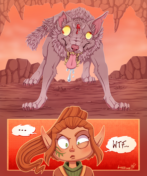 DerpDerpDerp.....Wolf? by Lumary92