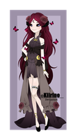 [AUCTION] - Demon Adoptable [CLOSED] by Kiirino