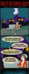 WHAT IF THE VAMPIRE ASKED?(1of2) by PONYMAAN