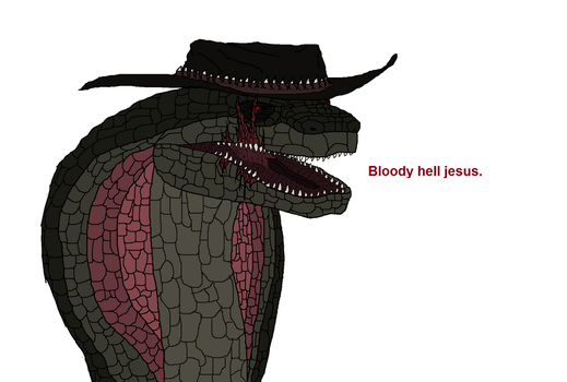 Bloody hell jesus by Redspets