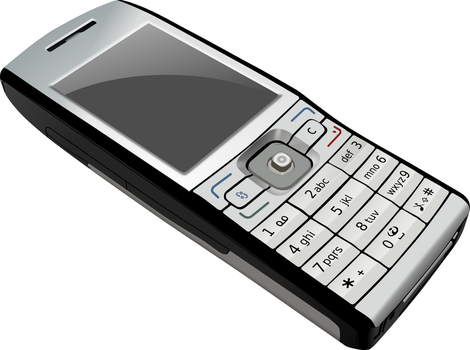 mobile phone by GNU-knight
