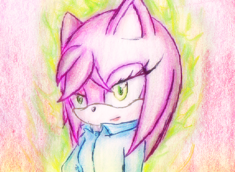 Amy Rose (The NewMoon) by mixlou