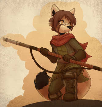 Commish - Adventure Forth by Trickitt