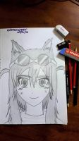 Lily The Fox Mechanic Lost Pause Fanart by extremerazr