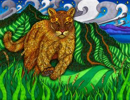 The Mountain Lion by PhilLewis