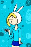 Fionna and her Gumball by NoxidamXV