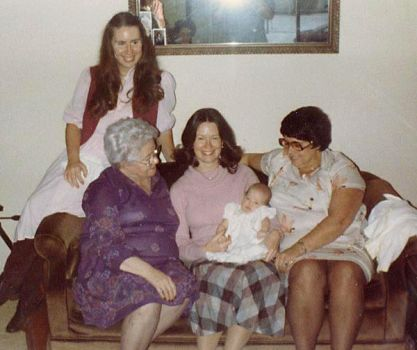 4 Generations of Girls by Joilieder