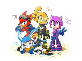 My Forces squad by FinikArt
