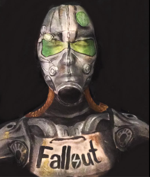 Fallout Power Armour by captainsarasparrow