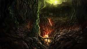 Corrupted Forest by Alexlinde