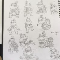 Day 39 : Bowser Jr. by The-BlackToteM