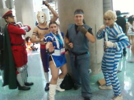 Anime Expo 2012: Street Fighter group by MaxGomora1247