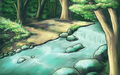 Forest River Speedpaint by naturalradical