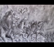 Ride of the Rohirrim by jumpermegs