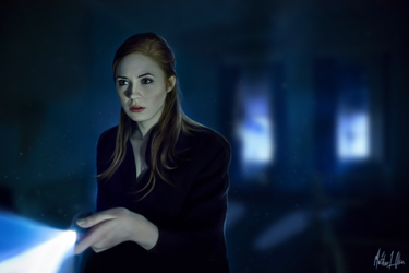 Amy Pond by Lasse17