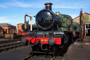 GWR 5101 Class 2-6-2t -4144- by Daniel-Wales-Images