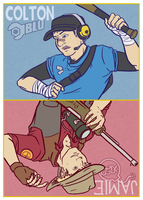 TF2 Rivals Card 1 by DigitalDuckie