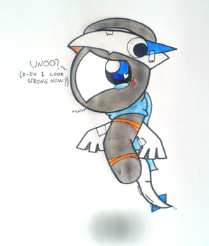 Do I look strong now? by GluryTheUnown