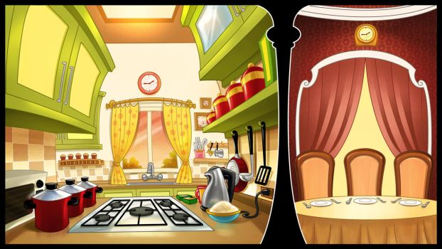 Cooking game concept by X-Factorism