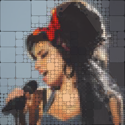 Tile Amy Winehouse by BeePriori
