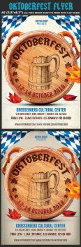 Oktoberfest Flyer Template 5 by Hotpindesigns
