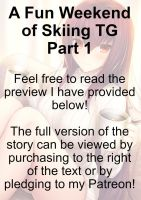 A Fun Weekend of Skiing TG Part 1 (Scathach TF) by TG-Vocals