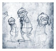 Monkeys All Day Long by Carlos-the-G
