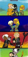 Dragon Age Couples by Peanuttie