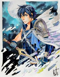 Fire Emblem: Awakening. Chrom by Laovaan