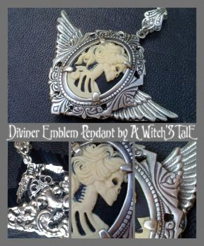 Diviner Emblem Pendant by A Witch's Tale by LaceWingedSaby
