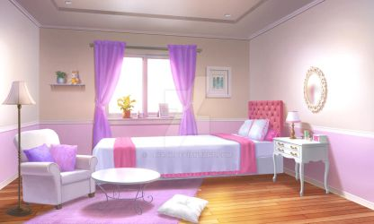 Cute Girl's Room by CRFRJP
