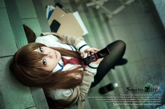 Makise Kurisu 01 by kyu-erien