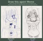 Bad girl- Before and after MEME by SweetAbril