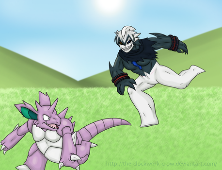Commission, Yemir Only Wants to Play by The-Clockwork-Crow