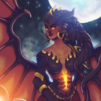 Dragon Symmetra by scrambled-megs