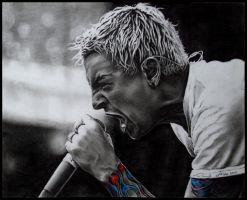 Chester Bennington by enigmatic-freak
