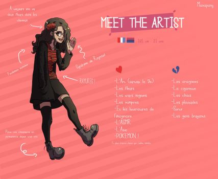 Meet the artist ! (Version sans code) by Manapany