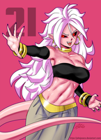 Android 21 by johnjoseco