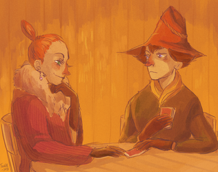 Joxter and Mymble by izmoroz