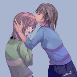 Chara and Frisk - Don't leave me here by AstreaPink