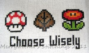 Choose Wisely - Super Mario by merrywether