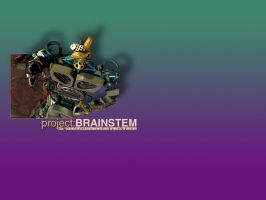 projectBRAINSTEM promo wall 01 by pixelcatalyst
