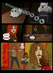 The Dog Catchers Comic : House of Pain! 16 by TheShockermaniac