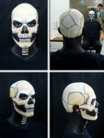 Ghost Rider (makeup process 2) by Thiago-M