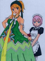 Fairy Tail -Lucy and Virgo- by EternASH