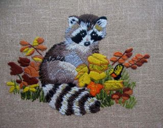 Raccoon by Helens-Serendipity