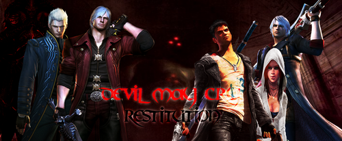 Devil May Cry - Restitution - cover 2 by The-Bone-Snatcher