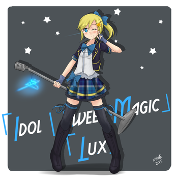 Idol / Sweet Magic Lux | Skin Concept by BookmarkAHead