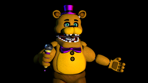 (SFM)Very Edited Fredbear by SpringBonnieNotTrap