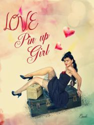 Pin up girl by cespra2002